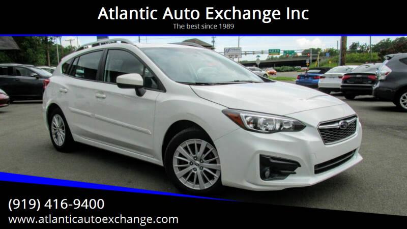 2018 Subaru Impreza for sale at Atlantic Auto Exchange Inc in Durham NC