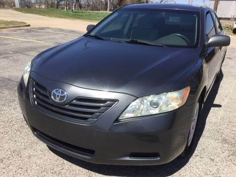 2007 Toyota Camry for sale at LOWEST PRICE AUTO SALES, LLC in Oklahoma City OK