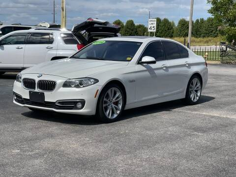 2014 BMW 5 Series for sale at Bagwell Motors in Lowell AR