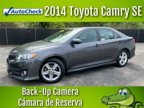 2014 Toyota Camry for sale at LIQUIDATORS in Houston TX