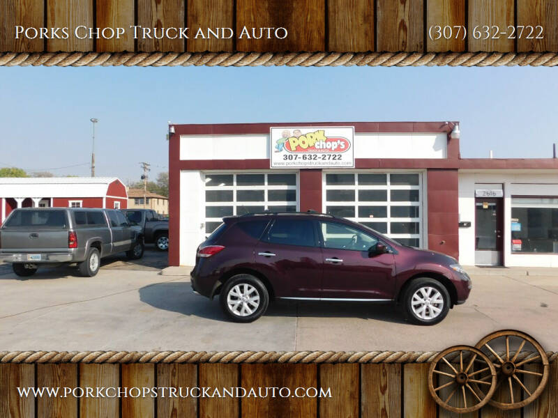 2014 Nissan Murano for sale at Porks Chop Truck and Auto in Cheyenne WY