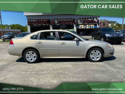 2011 Chevrolet Impala for sale at Gator Car Sales in Picayune MS