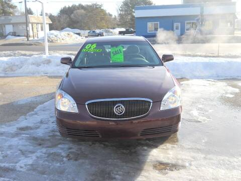 2006 Buick Lucerne for sale at Shaw Motor Sales in Kalkaska MI