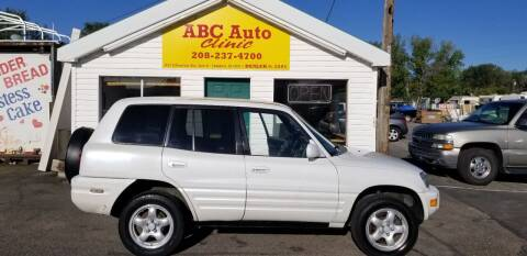 1999 Toyota RAV4 for sale at ABC AUTO CLINIC - Chubbuck in Chubbuck ID