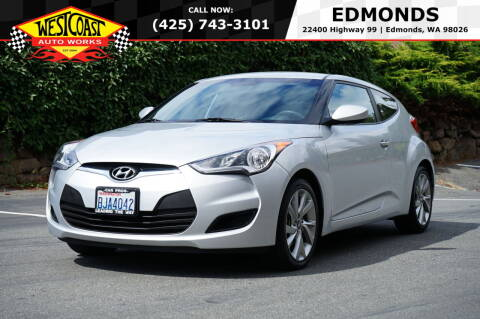 2016 Hyundai Veloster for sale at West Coast Auto Works in Edmonds WA