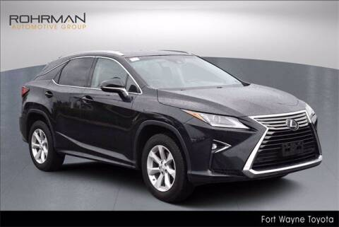 2017 Lexus RX 350 for sale at BOB ROHRMAN FORT WAYNE TOYOTA in Fort Wayne IN