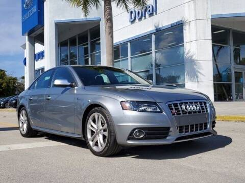 2011 Audi S4 for sale at DORAL HYUNDAI in Doral FL