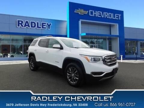 2019 GMC Acadia for sale at Radley Cadillac in Fredericksburg VA