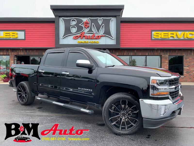 2018 Chevrolet Silverado 1500 for sale at B & M Auto Sales Inc. in Oak Forest IL