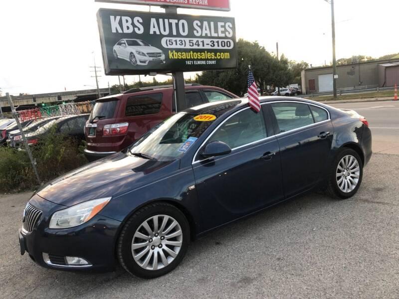 2011 Buick Regal for sale at KBS Auto Sales in Cincinnati OH