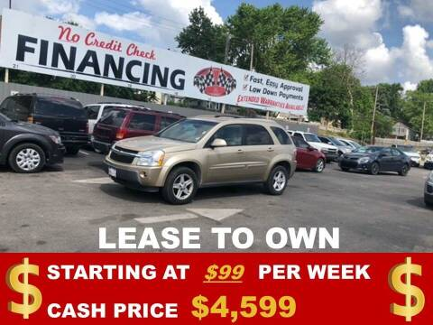 2006 Chevrolet Equinox for sale at Auto Mart USA in Kansas City MO