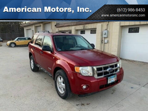 2008 Ford Escape for sale at American Motors, Inc. in Farmington MN