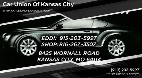 2012 Chrysler Town and Country for sale at Car Union Of Kansas City in Kansas City MO