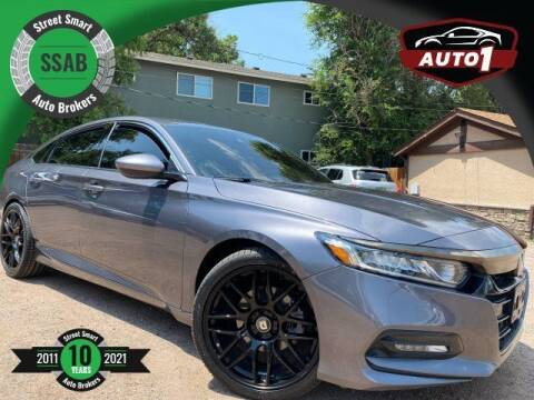 2018 Honda Accord for sale at Street Smart Auto Brokers in Colorado Springs CO