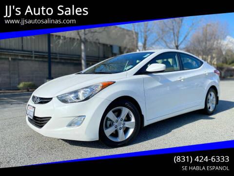 2013 Hyundai Elantra for sale at JJ's Auto Sales in Salinas CA