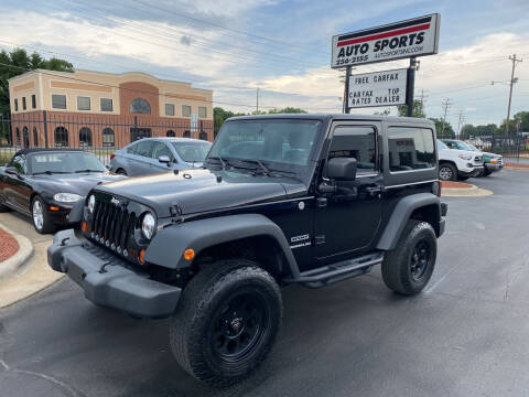 2011 Jeep Wrangler for sale at Auto Sports in Hickory NC