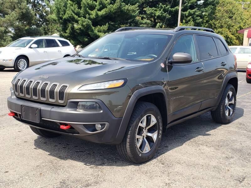 2014 Jeep Cherokee for sale at Thompson Motors in Lapeer MI