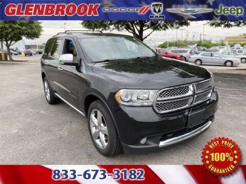 2012 Dodge Durango for sale at Glenbrook Dodge Chrysler Jeep Ram and Fiat in Fort Wayne IN
