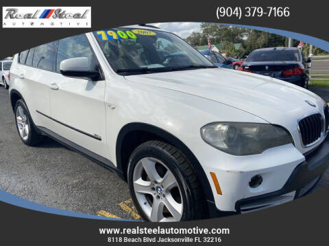 2007 BMW X5 for sale at Real Steel Automotive in Jacksonville FL