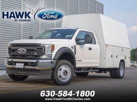2021 Ford F-550 Super Duty for sale at Hawk Ford of St. Charles in Saint Charles IL