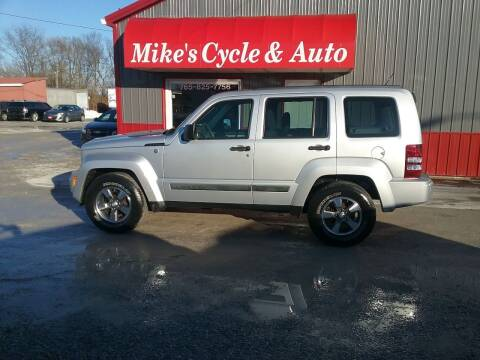 2008 Jeep Liberty for sale at MIKE'S CYCLE & AUTO in Connersville IN