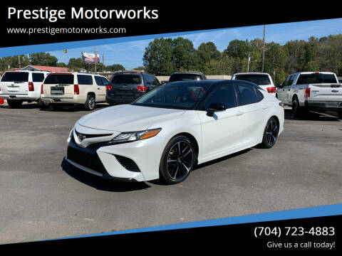 2019 Toyota Camry for sale at Prestige Motorworks in Concord NC