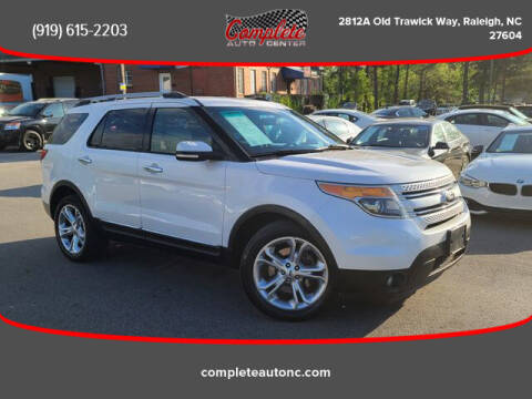 2015 Ford Explorer for sale at Complete Auto Center , Inc in Raleigh NC