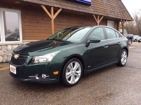 2014 Chevrolet Cruze for sale at MOTORS N MORE in Brainerd MN