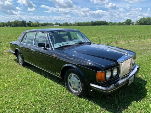 1991 Bentley Mulsanne for sale at Park Ward Motors Museum - Park Ward Motors in Crystal Lake IL