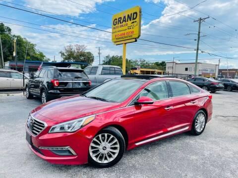 2015 Hyundai Sonata for sale at Grand Auto Sales in Tampa FL
