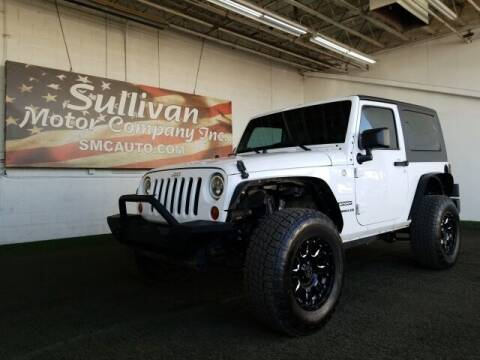 2013 Jeep Wrangler for sale at SULLIVAN MOTOR COMPANY INC. in Mesa AZ
