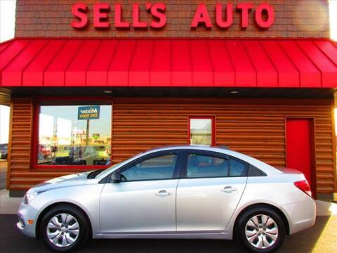 2016 Chevrolet Cruze Limited for sale at Sells Auto INC in Saint Cloud MN