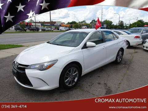 2015 Toyota Camry for sale at Cromax Automotive in Ann Arbor MI