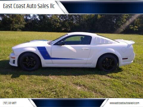 2007 Ford Mustang for sale at East Coast Auto Sales llc in Virginia Beach VA