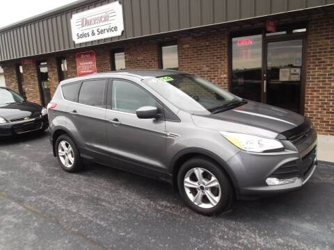 2014 Ford Escape for sale at Dietsch Sales & Svc Inc in Edgerton OH