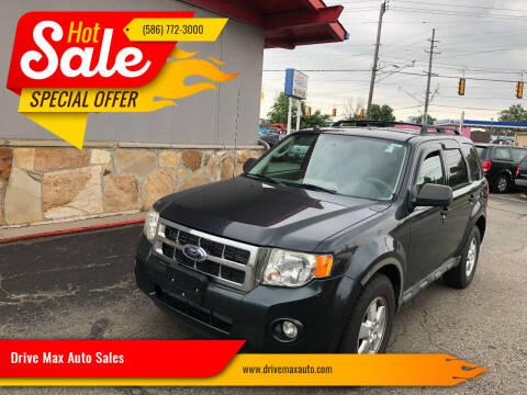 2009 Ford Escape for sale at Drive Max Auto Sales in Warren MI
