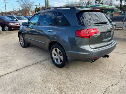 2007 Acura MDX for sale at Whites Auto Sales in Portsmouth VA