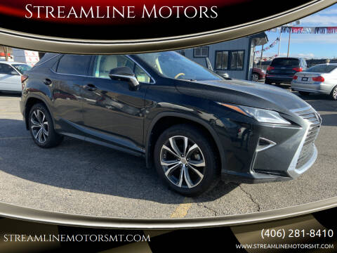 2017 Lexus RX 350 for sale at Streamline Motors in Billings MT