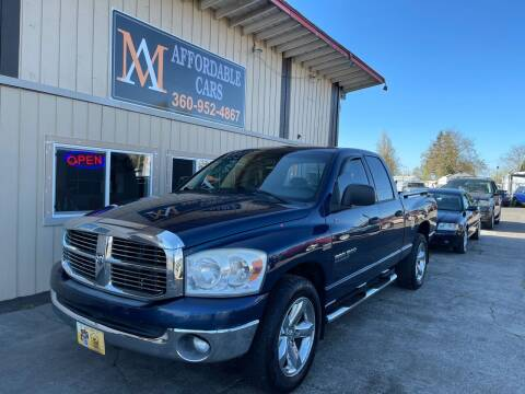 2007 Dodge Ram Pickup 1500 for sale at M & A Affordable Cars in Vancouver WA