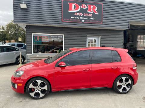2012 Volkswagen GTI for sale at D & R Auto Sales in South Sioux City NE