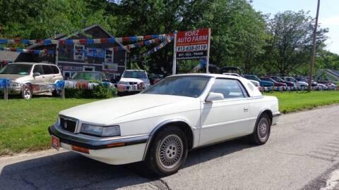 1990 Chrysler TC for sale at Korz Auto Farm in Kansas City KS