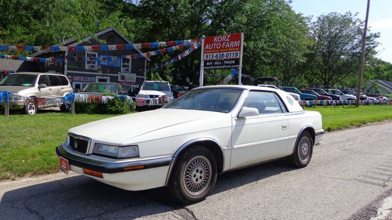 1990 Chrysler TC for sale in Kansas City, KS