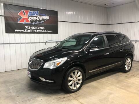 2017 Buick Enclave for sale at Karl Pre-Owned in Glidden IA