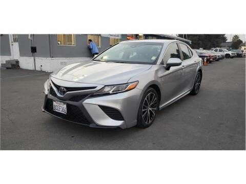 2018 Toyota Camry for sale at AutoDeals in Hayward CA