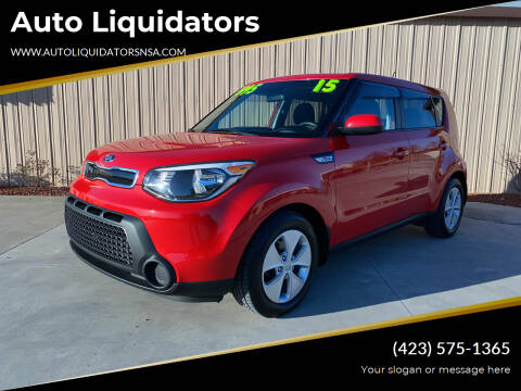 2015 Kia Soul for sale at Auto Liquidators in Bluff City TN