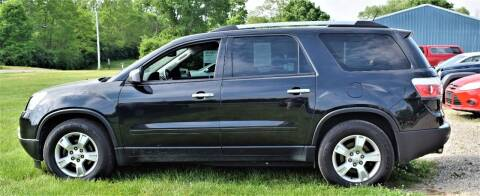 2012 GMC Acadia for sale at PINNACLE ROAD AUTOMOTIVE LLC in Moraine OH