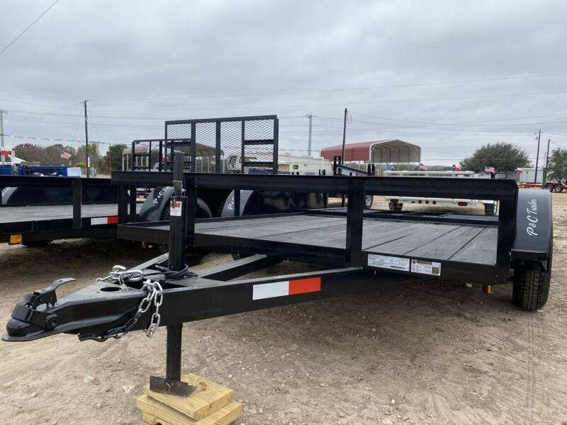 """2021 P & C  - Utility 77"""" x 14 ' -   for sale at LJD Sales in Lampasas TX"""