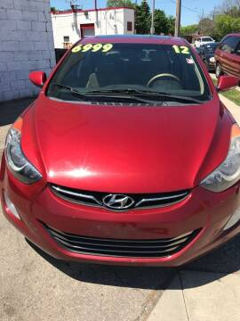 2012 Hyundai Elantra for sale at Square Business Automotive in Milwaukee WI