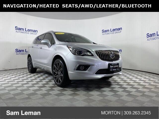 2017 Buick Envision for sale at Sam Leman CDJRF Morton in Morton IL