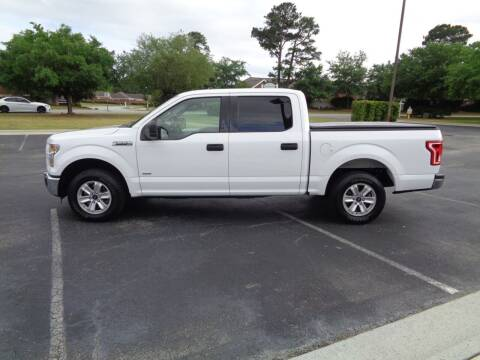 2016 Ford F-150 for sale at BALKCUM AUTO INC in Wilmington NC